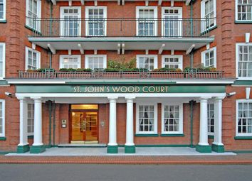 Thumbnail 4 bed flat to rent in St John's Wood Court, St. Johns Wood Road