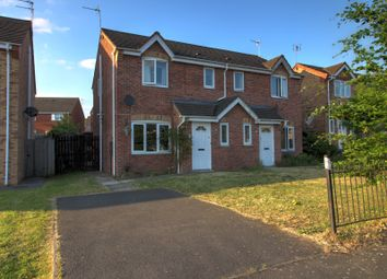 Thumbnail 3 bed semi-detached house for sale in Queensferry Parade, Glen Parva, Leicester