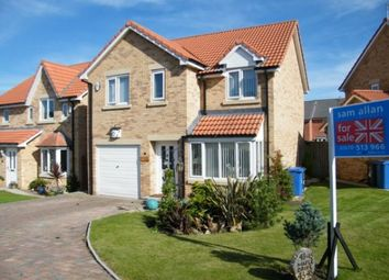 Thumbnail 4 bedroom detached house for sale in Maple Drive, Widdrington, Morpeth