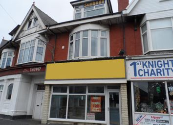 Thumbnail Retail premises for sale in St Annes Road, Blackpool