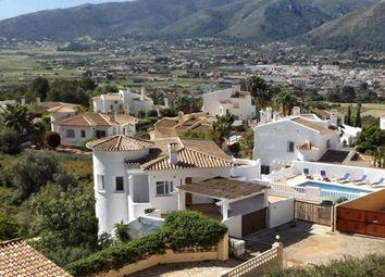Thumbnail 4 bed villa for sale in Spain, Valencia, Alicante, Jalón