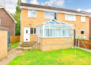 Thumbnail 3 bed semi-detached house for sale in Durham Way, Killinghall, Harrogate