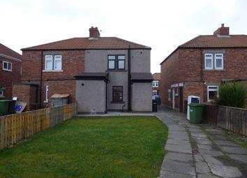 Thumbnail 2 bed terraced house to rent in Church Avenue, West Sleekburn, Choppington