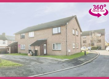 Thumbnail 1 bed flat for sale in Collingwood Crescent, Newport
