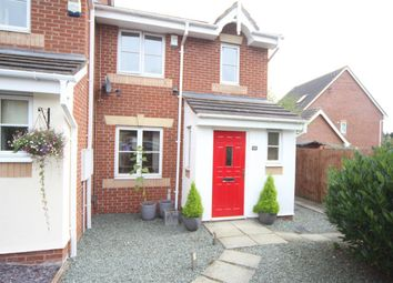 Thumbnail 3 bed town house for sale in Norman Dagley Close, Earl Shilton, Leicester