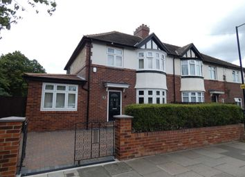 Thumbnail 3 bed semi-detached house to rent in Broadway East, Gosforth, Newcastle Upon Tyne