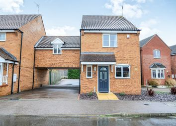 Thumbnail 3 bed link-detached house for sale in Creswell Place, Cawston, Rugby