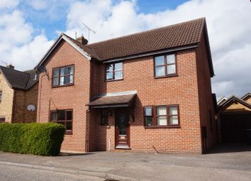 Thumbnail 4 bed detached house for sale in Blackbourne Road, Elmswell