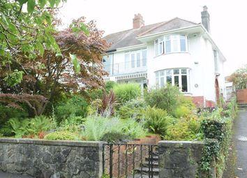 Thumbnail 3 bed semi-detached house for sale in Derwen Fawr Road, Derwen Fawr, Sketty