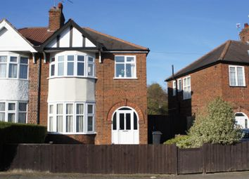 Thumbnail 3 bedroom property for sale in Petworth Drive, Western Park, Leicester