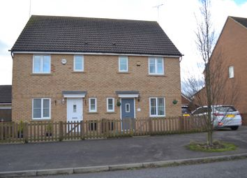 Thumbnail 3 bed semi-detached house for sale in Eddington Crescent, Welwyn Garden City, Hertfordshire
