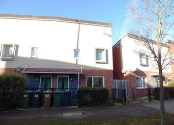 Thumbnail 2 bed end terrace house for sale in Cook Avenue, Hempsted, Peterborough, Cambridgeshire