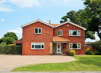 Thumbnail 5 bedroom detached house for sale in Garton Road, Aldbrough, Hull