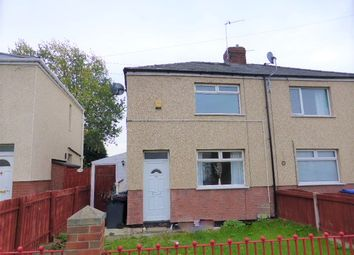 Thumbnail 2 bed semi-detached house to rent in Chaucer Road, Mexborough
