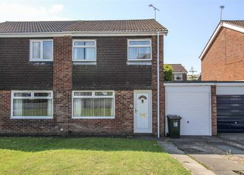 Thumbnail 3 bed semi-detached house to rent in Bamborough Court, Dudley, Cramlington