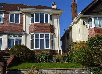 Thumbnail 4 bed semi-detached house for sale in Lon Cedwyn, Swansea