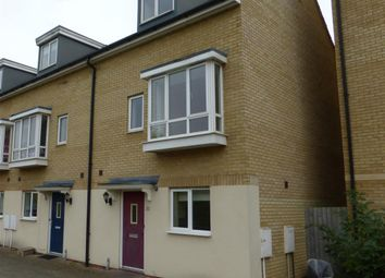 Thumbnail 3 bedroom end terrace house for sale in Bank Avenue, Hampton Centre, Peterborough