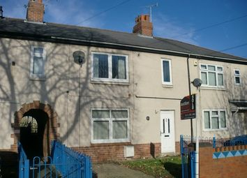 Thumbnail 3 bed terraced house to rent in Fryston Road, Castleford