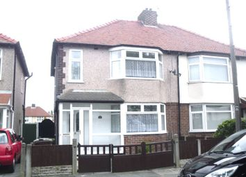 Thumbnail 3 bed semi-detached house to rent in Derwent Road, Crosby, Liverpool