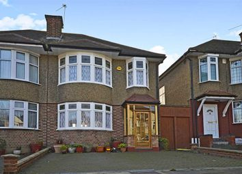Thumbnail 3 bedroom semi-detached house for sale in Pymmes Green Road, New Southgate