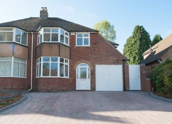 Thumbnail 4 bed semi-detached house for sale in Halton Road, Sutton Coldfield