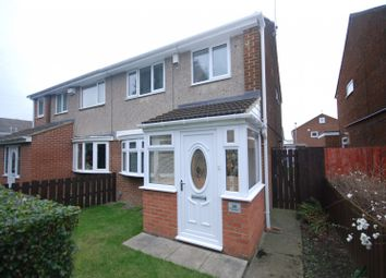 Thumbnail 3 bed semi-detached house for sale in Yewtrees, Gateshead