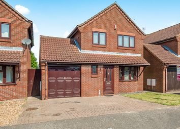 Thumbnail 3 bedroom detached house for sale in Spring Drive, Farcet, Peterborough