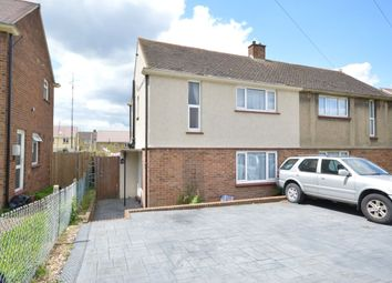 Thumbnail 2 bed semi-detached house to rent in St. Margarets Crescent, Gravesend