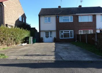 Thumbnail 3 bed semi-detached house for sale in Moyra Drive, Arnold, Nottingham, Nottinghamshire