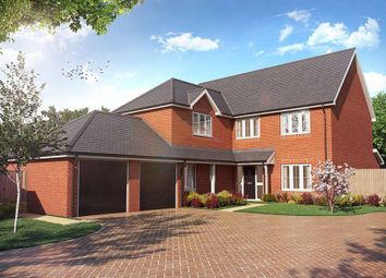 "Thumbnail 4 bed detached house for sale in ""The Selten"" at Weston Road, Aston Clinton, Aylesbury"