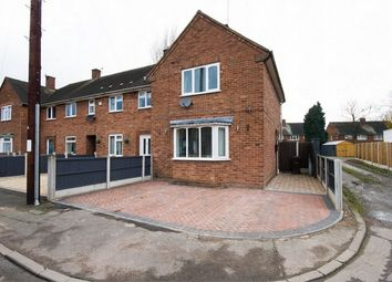 Thumbnail 2 bed end terrace house for sale in Rydal Close, Wednesfield, Wolverhampton, West Midlands
