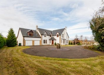 Thumbnail 5 bed detached house for sale in The Garron, Murthly, Perthshire