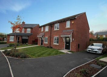 Thumbnail 3 bed semi-detached house for sale in Locke Green, Northwich, Cheshire