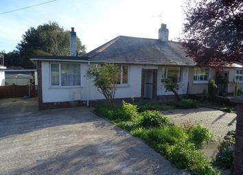 Thumbnail 2 bed semi-detached bungalow for sale in Coychurch Road, Bridgend