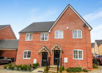 Thumbnail 3 bed semi-detached house for sale in Parker Crescent, Sawtry, Huntingdon