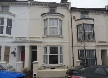 Thumbnail 5 bedroom terraced house to rent in Stanley Road, Brighton