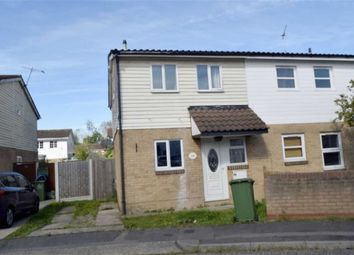 Thumbnail 3 bed semi-detached house for sale in Voysey Gardens, Basildon, Essex