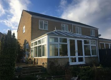 Thumbnail 3 bed semi-detached house for sale in Waterfield Close, Bishops Hull, Taunton