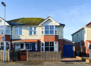 Thumbnail 4 bed semi-detached house for sale in Gannon Road, Worthing