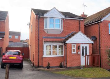Thumbnail 3 bed detached house for sale in Leander Close, Sutton-In-Ashfield