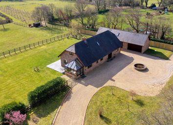 Sway Road, Pennington, Lymington SO41. 4 bed detached house for sale