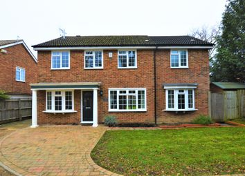 Thumbnail 5 bed detached house to rent in Hatherwood, Leatherhead