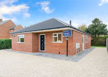Thumbnail 3 bed detached bungalow for sale in Leas Road, Great Hale, Sleaford, Lincolnshire