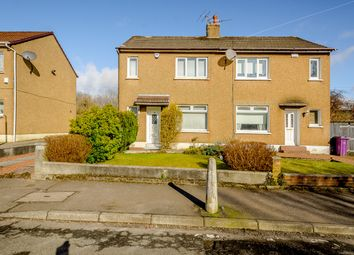 Thumbnail 2 bed semi-detached house for sale in Moraine Avenue, Glasgow, Glasgow City