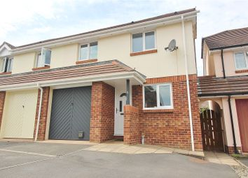 Thumbnail 3 bed semi-detached house for sale in Middle Combe Drive, Roundswell, Barnstaple