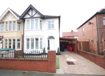 Thumbnail 3 bed semi-detached house for sale in Cheddar Avenue, Blackpool