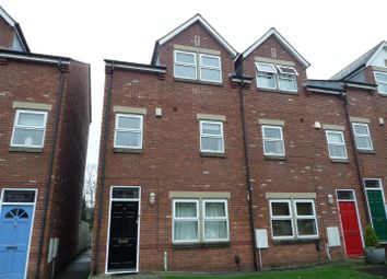 Thumbnail 3 bedroom town house to rent in Egerton Mews, Stockton Heath, Warrington