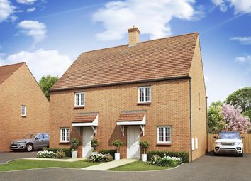 "Thumbnail 3 bed end terrace house for sale in ""The Gatehouse"" at Ashton Road, Roade, Northampton"
