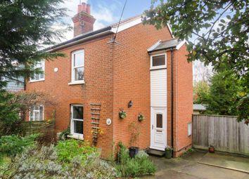 Thumbnail 3 bed semi-detached house for sale in Bullards Lane, Woodbridge