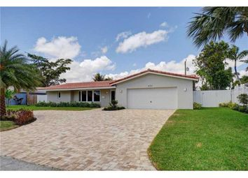 Thumbnail 4 bed detached house for sale in 4121 Ne 26th Terrace, Fort Lauderdale, Broward County, Florida, United States